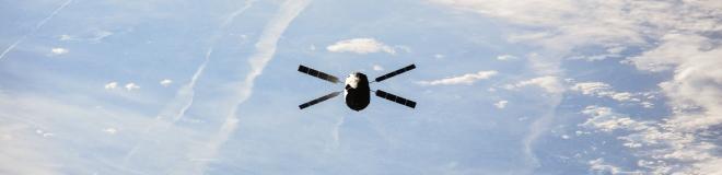Satellit-Streifen
